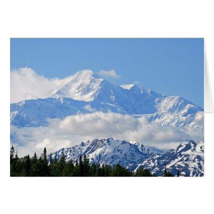 Denali / Mt McKinley Alaska Stationery Note Card