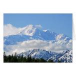 Denali/Mt McKinley Alaska Tarjeta Pequeña