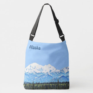 Denali (Mt. McKinley) Crossbody Bag