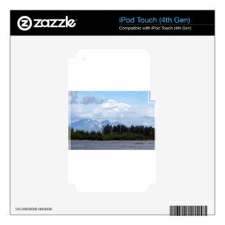 Denali, Mt McKinley, from river, Alaska, USA 1 iPod Touch 4G Decals