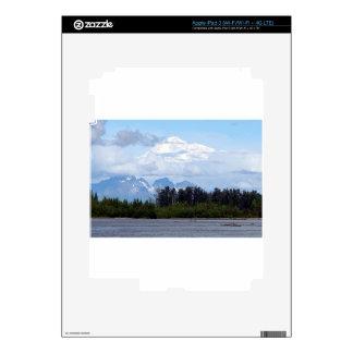 Denali, Mt McKinley, from river, Alaska, USA 1 iPad 3 Skin