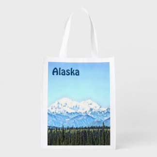Denali (Mt. McKinley) Reusable Grocery Bag