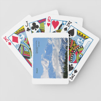Denali: Mtns are calling / J Muir Bicycle Playing Cards