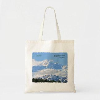 Denali: Mtns are calling / J Muir Tote Bag
