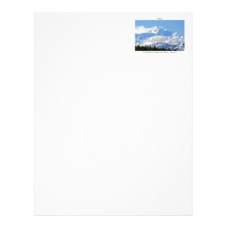 Denali / Mtns are calling-J Muir/with border Letterhead