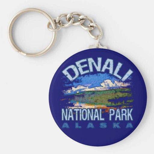 Denali National Park, Alaska Key Chains