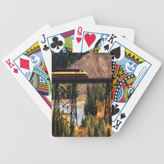 Denali National Park and Preserve USA Alaska Bicycle Playing Cards