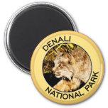 Denali National Park Fridge Magnet
