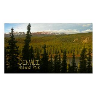 Denali National Park in Alaska Double-Sided Standard Business Cards (Pack Of 100)
