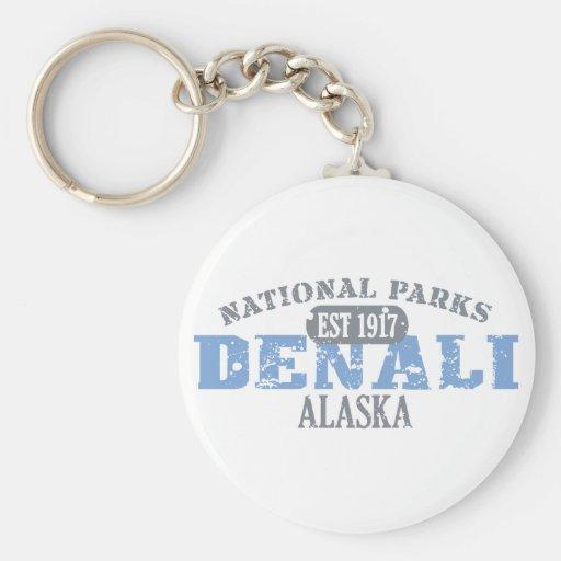 Denali National Park Keychains