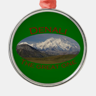 Denali National Park Metal Ornament