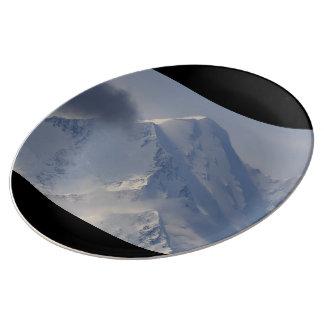 Denali National Park Porcelain Plate