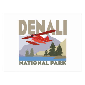Denali National Park Postcard