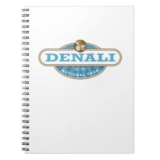 Denali National Park Spiral Notebook