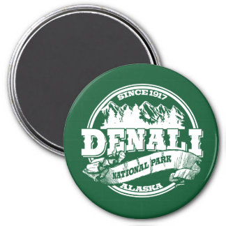 Denali Old Circle Green Magnet