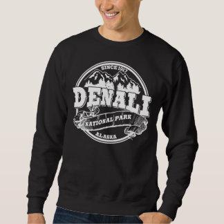 Denali Old Circle White Sweatshirt