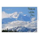 Denali - Peace Love Joy Greeting Greeting Card