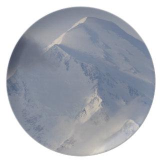 denali peak melamine plate