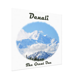 Denali / The Great One Gallery Wrap Canvas