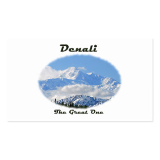 Denali / The Great One Double-Sided Standard Business Cards (Pack Of 100)