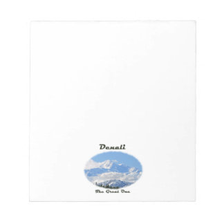 Denali / The Great One Memo Note Pad