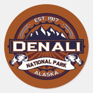 Denali Vibrant Classic Round Sticker