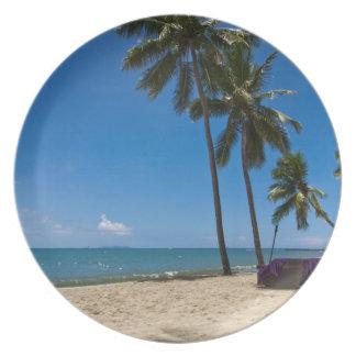 Denarau Island Beach, Fiji Dinner Plate