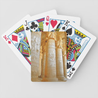 Dendera Temple Bicycle Playing Cards