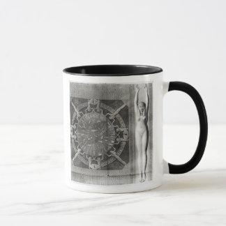 Dendera Zodiac, engraved in 1802 Mug