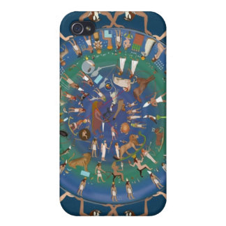 Dendera Zodiac Temple of Hathor iPhone 4 Cover