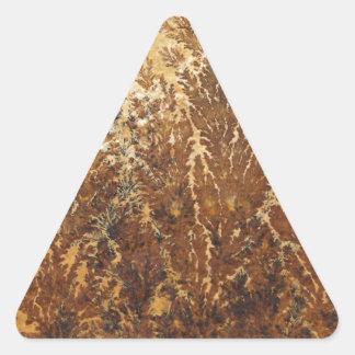Dendritas Pegatina Triangular