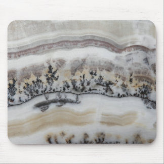 Dendritic Agate Pattern Mouse Pad