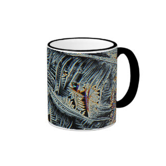 Dendritic crystals under the microscope mug