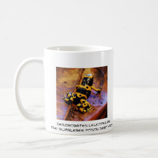 Dendrobates leucomelas coffee mugs
