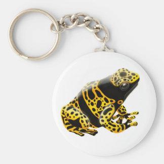 Dendrobates Leucomelas Poison Frog Keychain