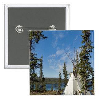 Dene Tribe gathering, Northwest Territories, Button