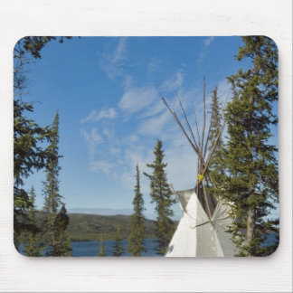 Dene Tribe gathering, Northwest Territories, Mouse Pad