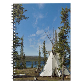 Dene Tribe gathering, Northwest Territories, Notebook