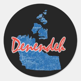 Denendeh - Northwest Territories Classic Round Sticker