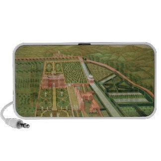 Denham Place, Buckinghamshire, c.1695 (oil on canv iPhone Speakers