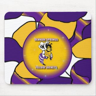 Denham Springs Yellow Jacket Mousepad