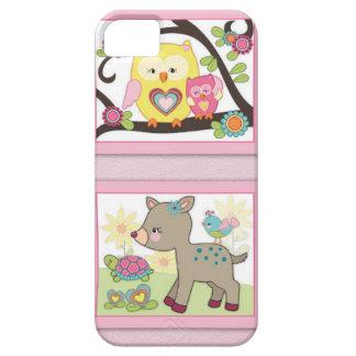 Deni HAPPY FRIENDS iPhone SE/5/5s Case
