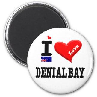 DENIAL BAY - I Love Magnet