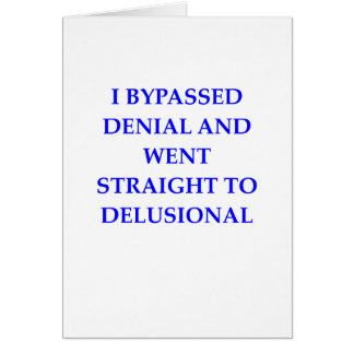 DENIAL CARD