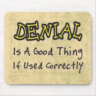 Denial Mouse Pad