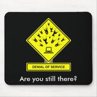 Denial of Service Mousepad