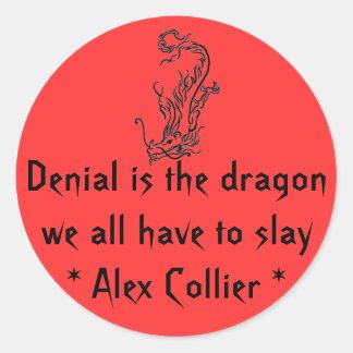 Denial stickers