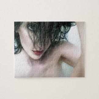 Denials Downward Spiral - Self Portrait Jigsaw Puzzles