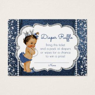 Denim and Diamond Girls Diaper Raffle Tickets