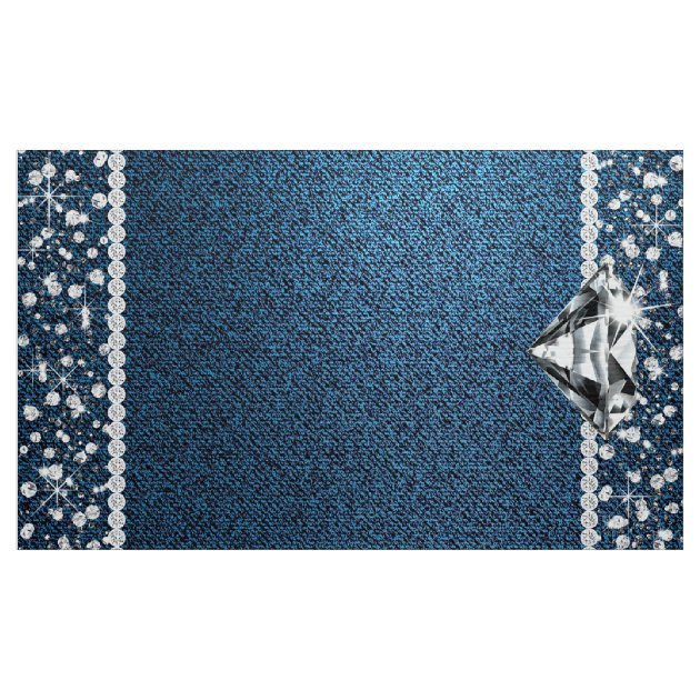 Denim And Diamond Photo Backdrop Photo Booth Zazzle Com